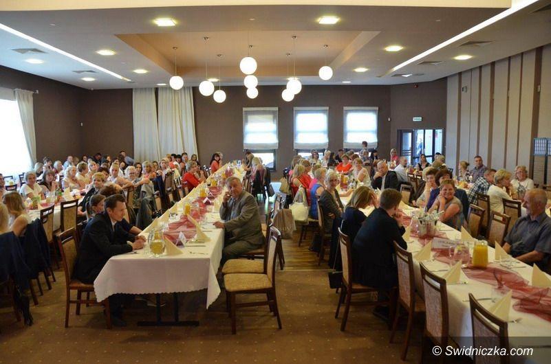 powiat świdnicki: Spotkanie pracowników ochrony zdrowia