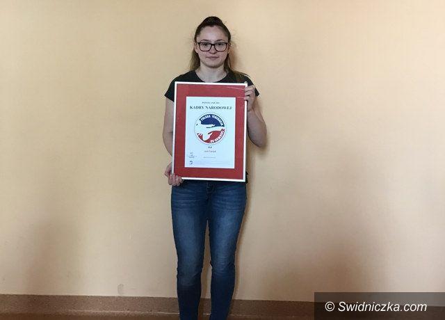 Świebodzice: Uczennica Liceum Ogólnokształcącego w Świebodzicach w Kadrze Narodowej Polski Taekwon–do