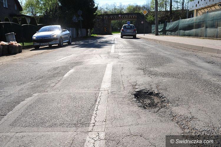 Świdnica: Rozpoczyna się przebudowa ulicy Przyjaźni
