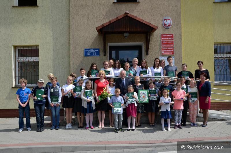 Gmina Marcinowice: Dzieci opanowały Urząd