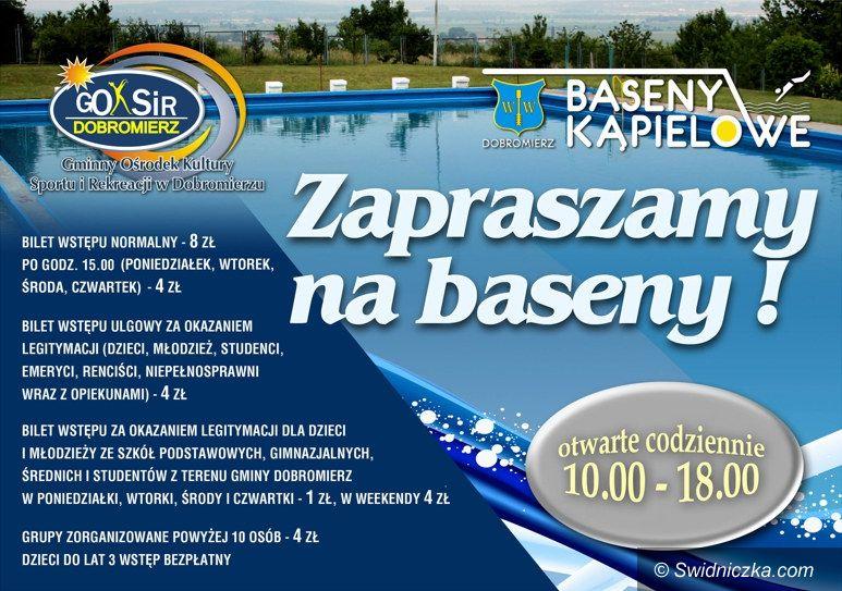 Dobromierz: Już wkrótce otwarcie basenów