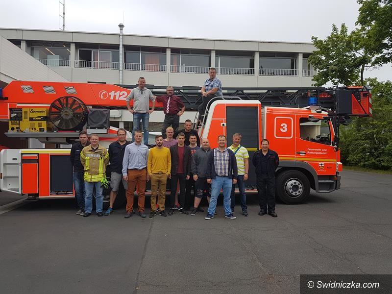 Żarów: Wizyta strażaków z Żarowa w niemieckim Birk