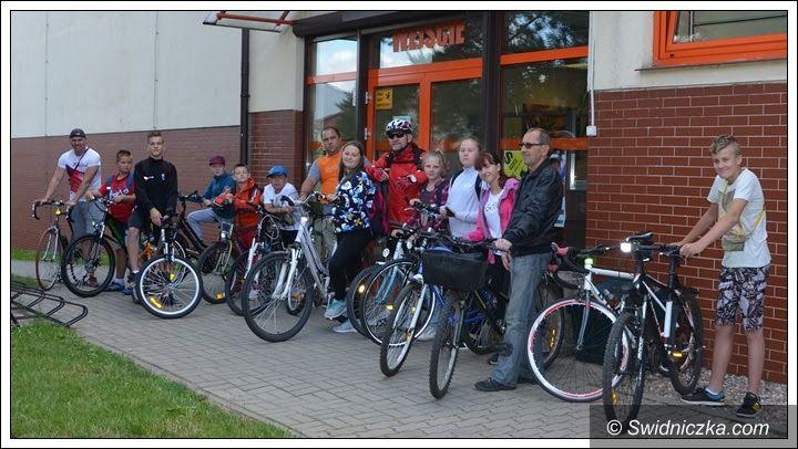 Żarów: Wakacje na rowerze