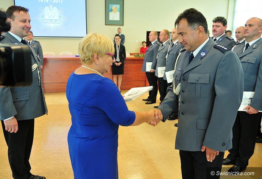 Gmina Świdnica: Święto policji z nowym posterunkiem