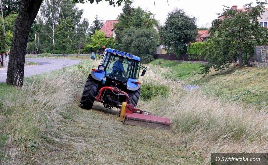 Gmina Dobromierz: Trwają prace porządkowe