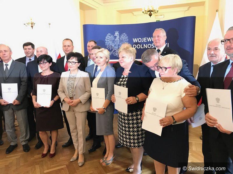 Gmina Marcinowice: Dotacje dla Gminy Marcinowice