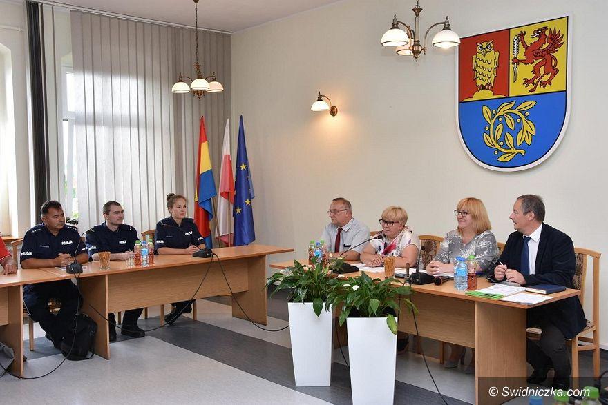 Gmina Świdnica: Sołtysi poznali swoich patrolowców
