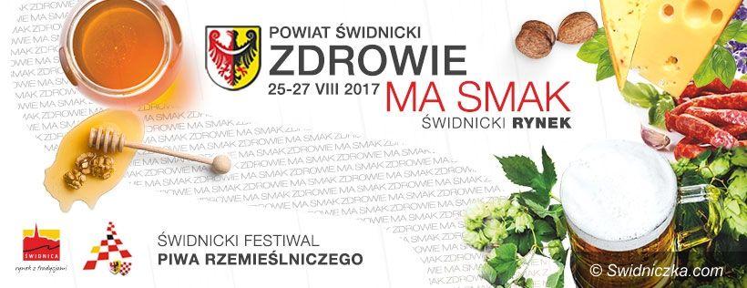 """powiat świdnicki: XI Targi """"Zdrowie ma smak"""". Zgłoszenia trwają"""