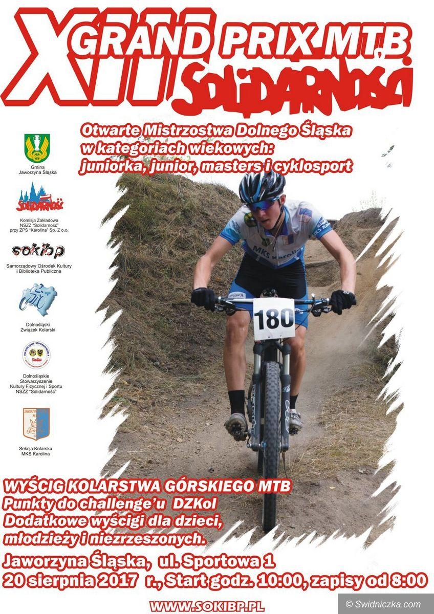 Jaworzyna Śląska: XIII Grand Prix MTB Solidarności w Jaworzynie Śląskiej