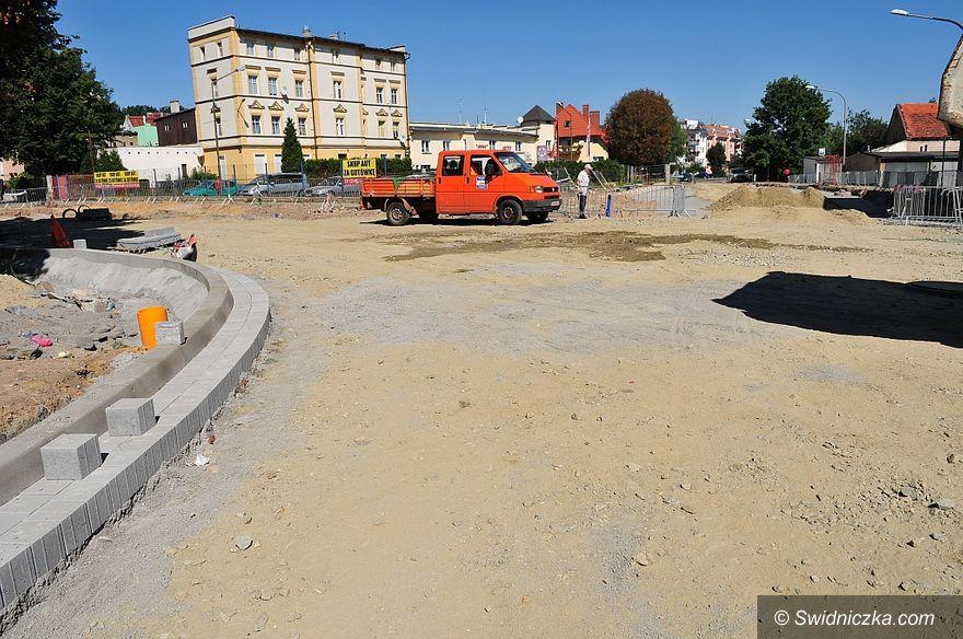 Świdnica: Trwa przebudowa skrzyżowania ulic Wodnej i Mieszka
