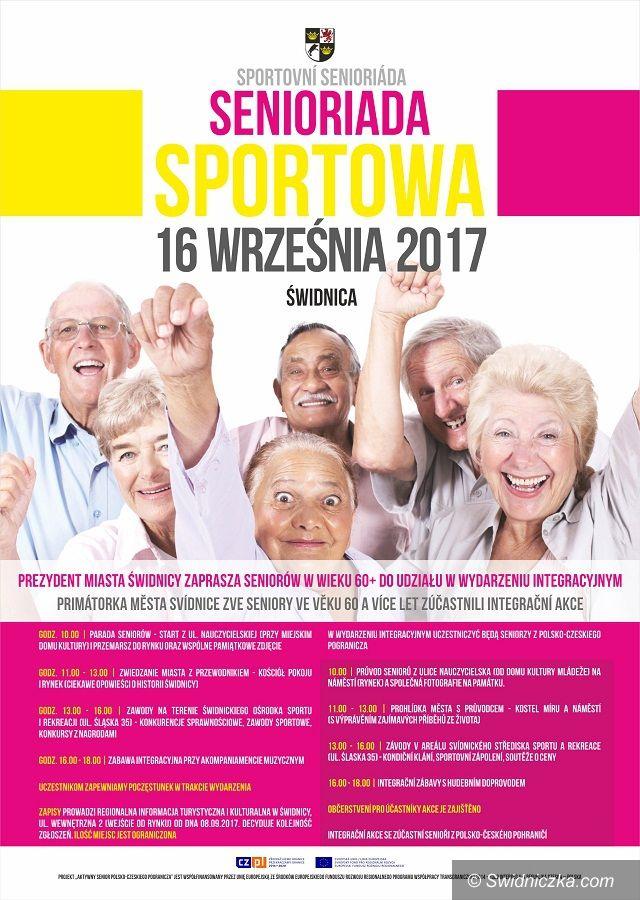 Świdnica: Senioriada Sportowa w Świdnicy