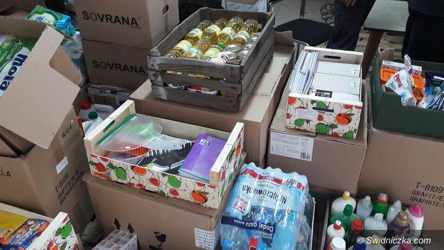 Świdnica: Wyruszył transport z darami do Czerska