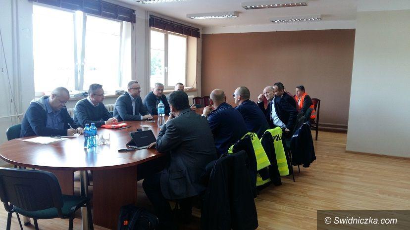 Jaworzyna Śląska: Spotkanie w sprawie poprawy bezpieczeństwa w ruchu drogowym