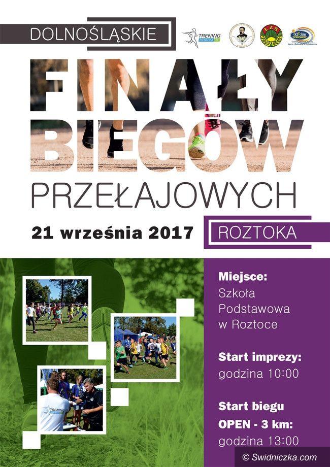 Roztoka: Dolnośląskie Finały Biegów Przełajowych