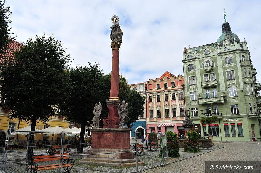 Świdnica: Zakończono prace konserwacyjne Kolumny Świętej Trójcy w Świdnicy