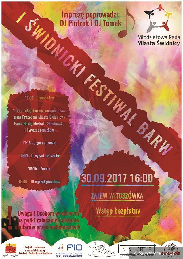 Świdnica: Zapraszamy na I Świdnicki Festiwal Barw