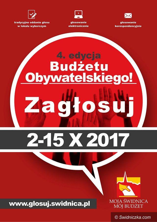 Świdnica: Świdnicki Budżet Obywatelski 2017 – zagłosuj