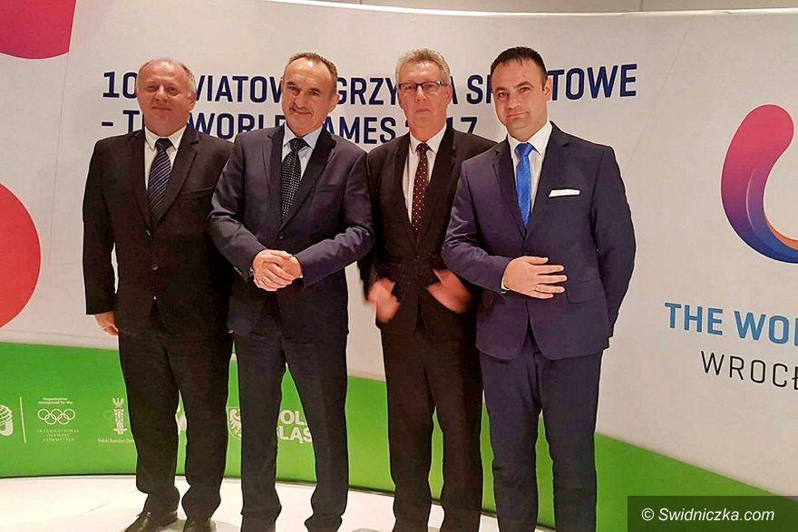 Świdnica: Podsumowanie The World Games 2017 i podziękowania dla partnerów wydarzenia