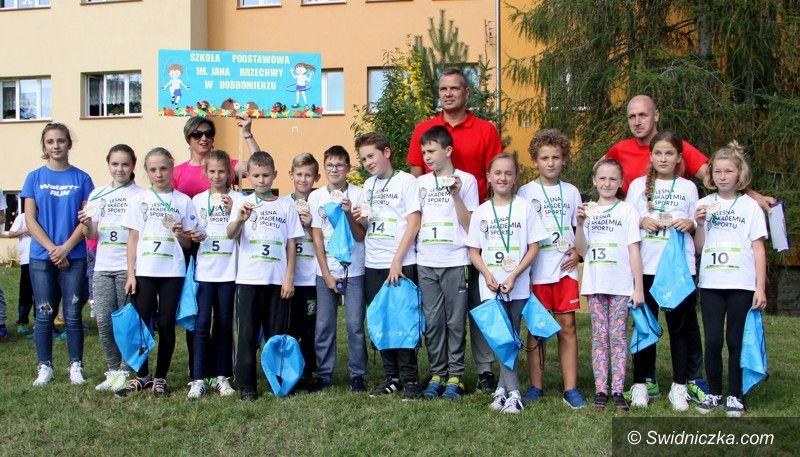 Dobromierz: Leśna Akademia Sportu u Brzechwiaków