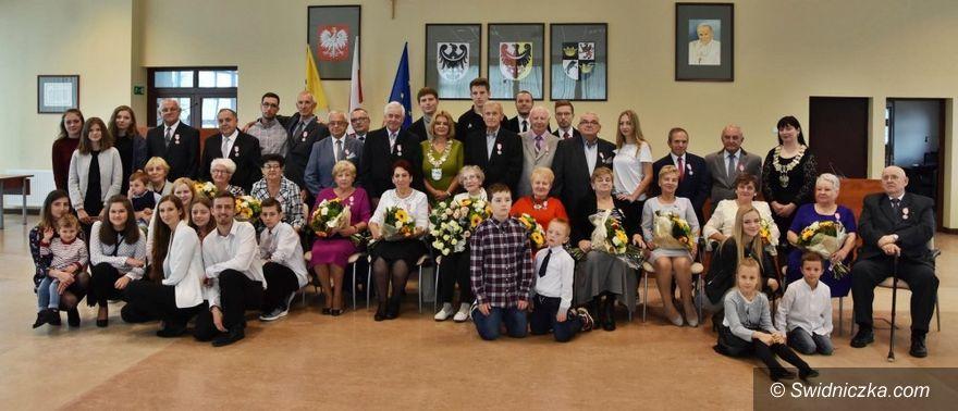 Świdnica/powiat świdnicki: Kolejne pary obchodziły złote gody
