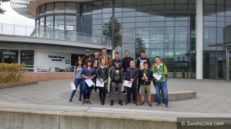 Świdnica: Wizyta partnerska uczniów z Zespołu Szkół Mechanicznych w Świdnicy