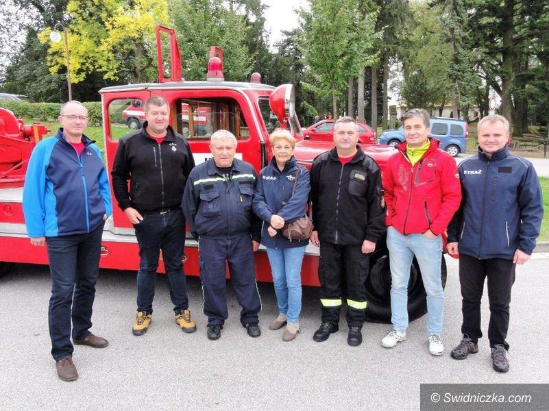 Strzegom: Strażacy ze Strzegomia w Horicach