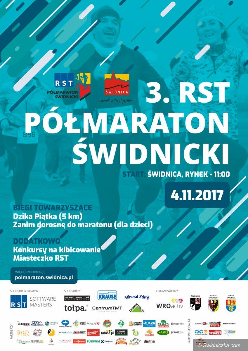 Świdnica: Utrudnienia podczas 3.RST Półmaratonu Świdnickiego
