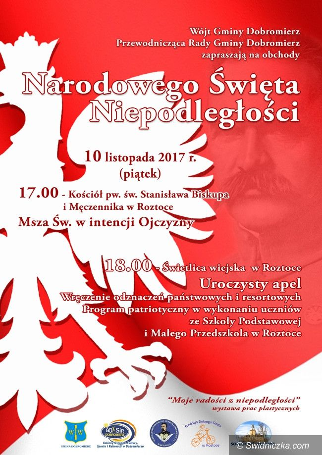 Gmina Dobromierz: Gminne Obchody Święta Niepodległości w Dobromierzu