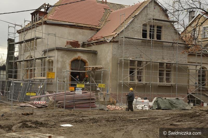 Żarów: Trwa remont dworca PKP w Żarowie