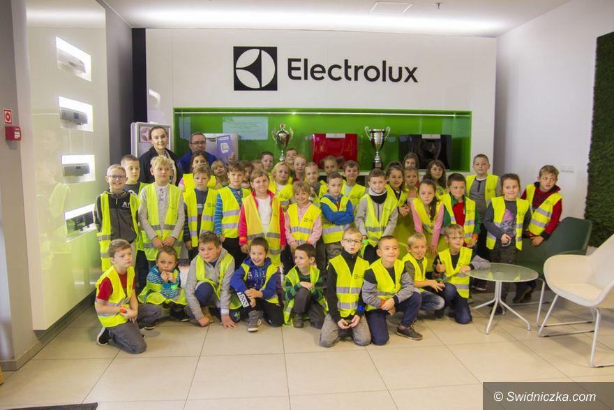 Żarów: Wizyta w żarowskim Electroluxie