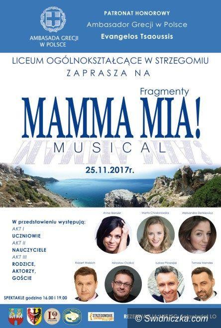 Strzegom: Przedstawienie w LO z patronatem ambasadora Grecji