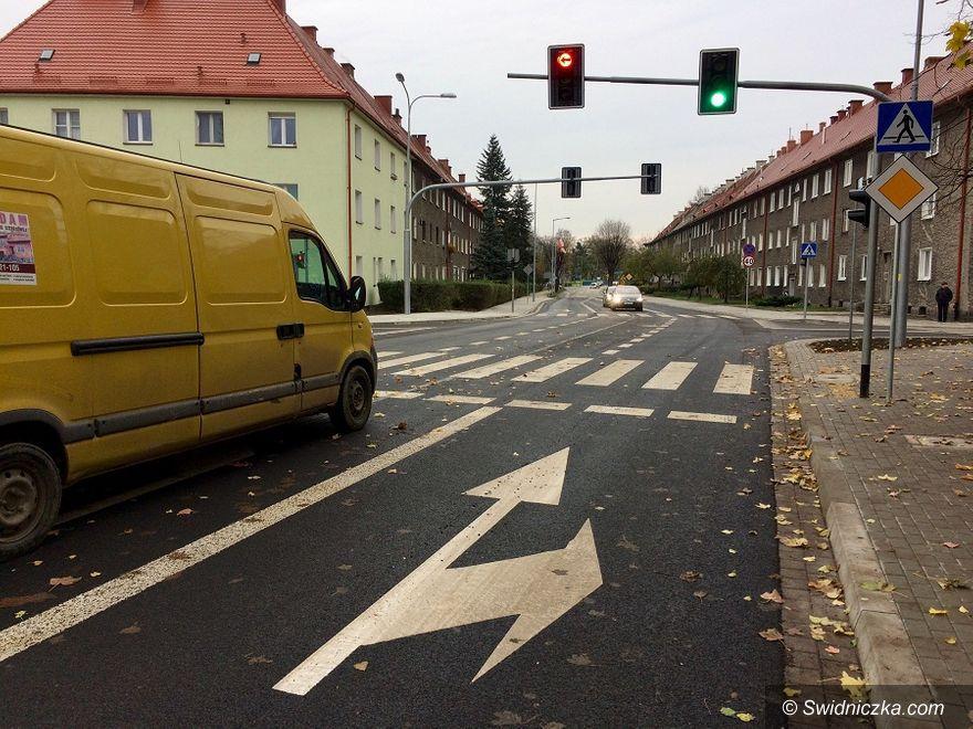 Świdnica: Zakończyli przebudowę skrzyżowania