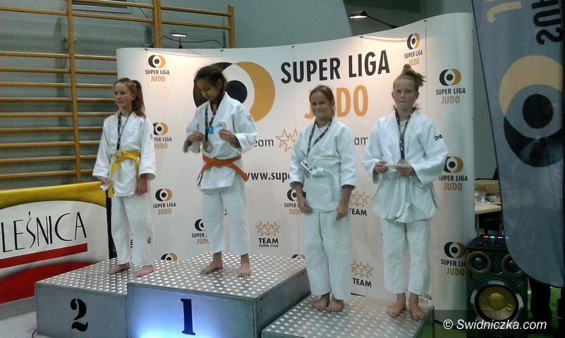 Strzegom: Super Liga w judo