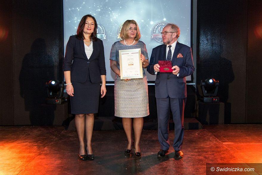 Świdnica: Kongres Turystyki Polskiej nagrodzony złotym godłem Najwyższa Jakość Quality International