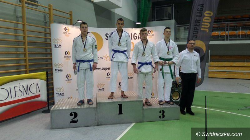 Strzegom: Tatami w finale Super Ligi judo