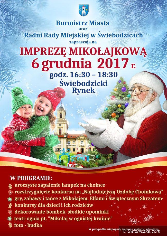 Świebodzice: W środę bawimy się z Mikołajem w Świebodzicach
