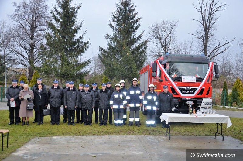 Goczałków: Nowy wóz pożarniczy dla Goczałkowa