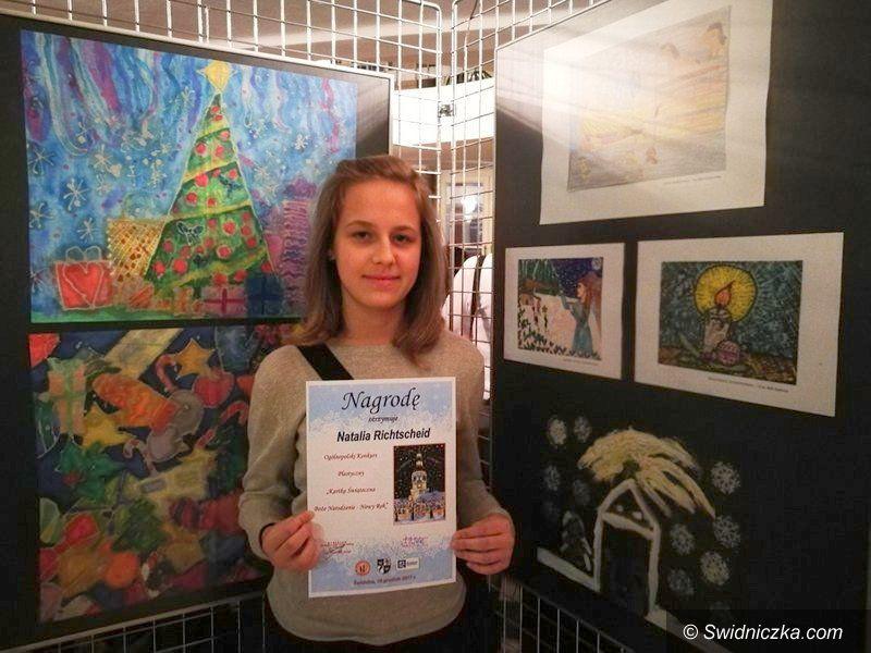 Marcinowice: Natalia laureatką konkursu plastycznego