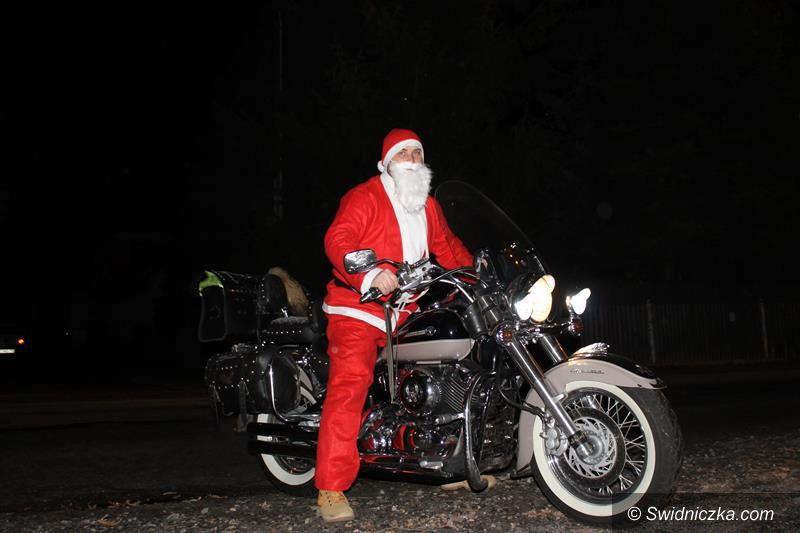 Przyłęgów: Święty Mikołaj przyjechał na ... motorze