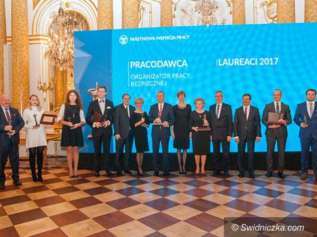 """Żarów: Żarowski Electrolux – laureatem konkursu """"Pracodawca – organizator pracy bezpiecznej"""""""