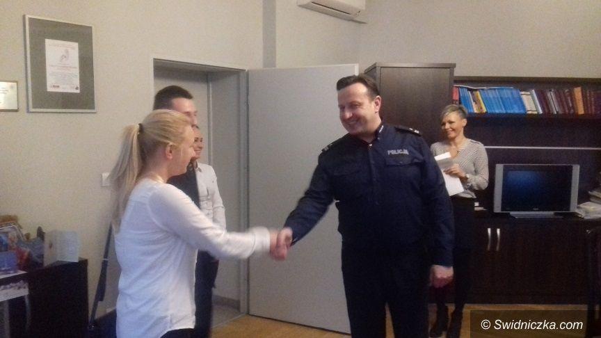 Świdnica/powiat świdnicki: Komenda Powiatowa Policji w Świdnicy przyjęła w swoje szeregi nowych policjantów