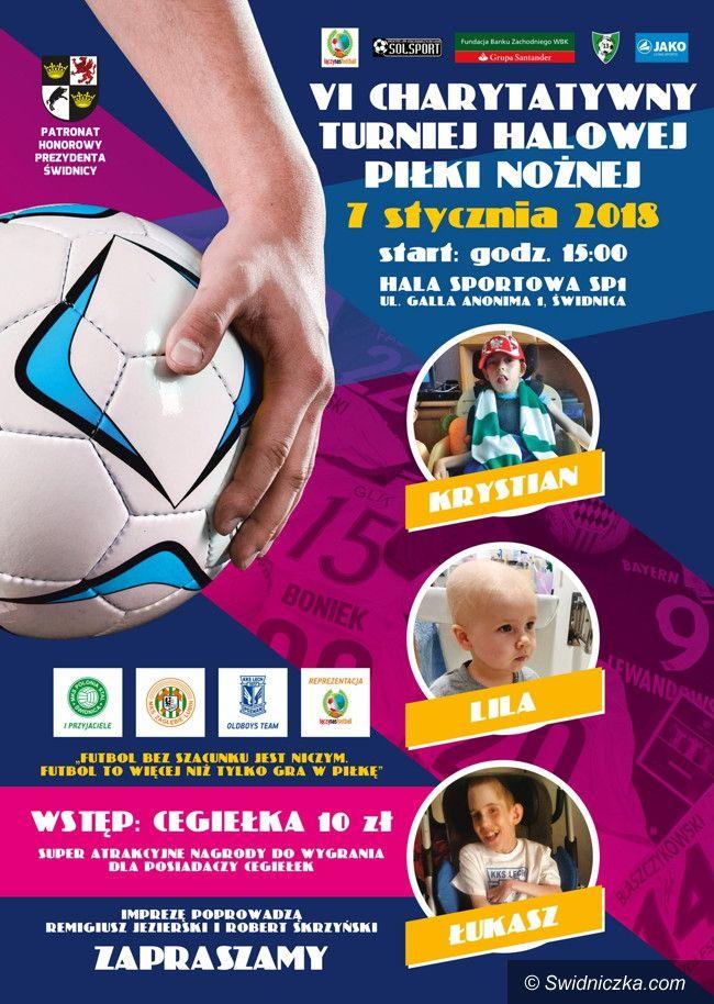 Świdnica: VI Charytatywny Turniej Piłki Nożnej