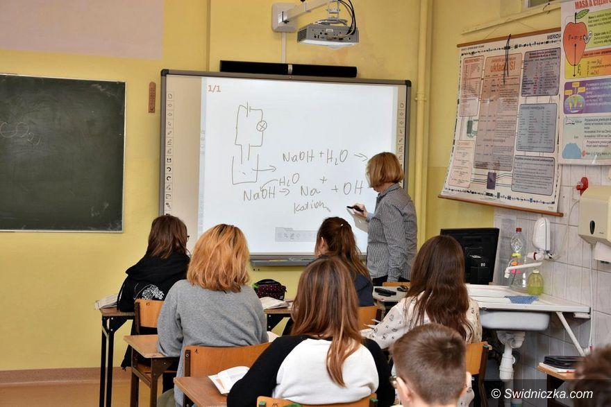 Gmina Świdnica: Tablice interaktywne w gminnych szkołach