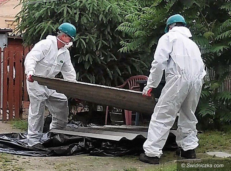 Strzegom: Usuwanie azbestu w 2018 roku