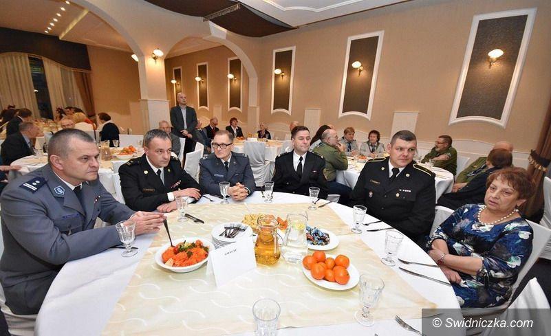 Świdnica/powiat świdnicki: Opłatkowe spotkanie z kombatantami