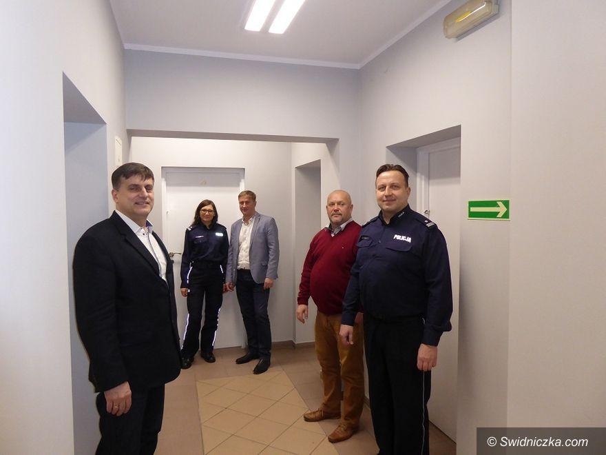 Żarów: Komisariat Policji w Żarowie już po remoncie
