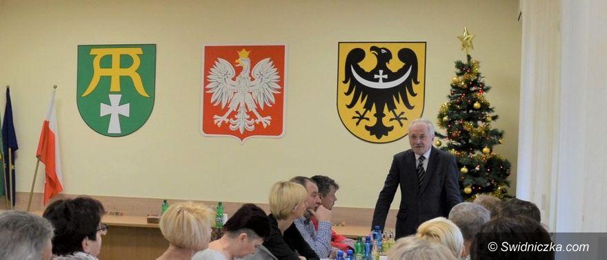 Marcinowice: Narada sołtysów w gminie Marcinowice