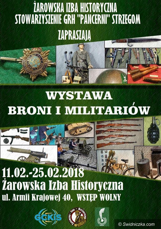 """Żarów: Zapraszamy na wystawę """"Broni i Militariów"""""""