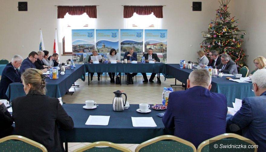 Gmina Dobromierz: Styczniowa sesja Rady Gminy w Dobromierzu