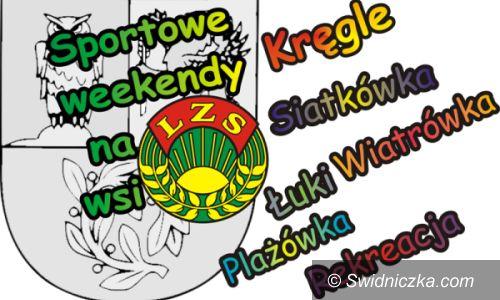 """Gmina Świdnica: Startuje kolejna edycja """"Sportowych Weekendów na Wsi"""""""